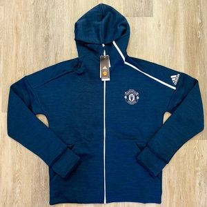 Adidas 2018 Manchester United Training Navy Jacket